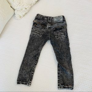 ZARA Boys Black Denim Jeans